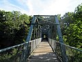 Willimantic pedestrian bridge, middle.JPG