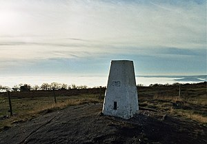 Wills Neck - Trig point on top of Will's Neck