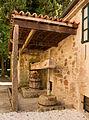 Winepress of the Rosalía de Castro Museum in Iria Flavia, Padrón, Galicia, Spain.jpg