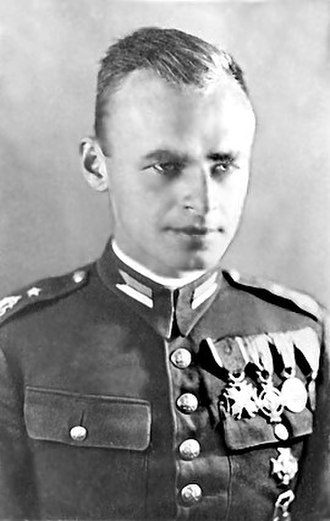 Polish resistance movement in World War II - Witold Pilecki - founder of the TAP organisation and the secret agent of Polish resistance in Auschwitz