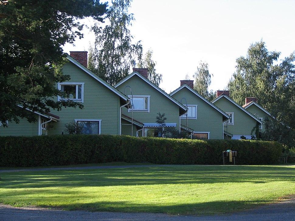 Wooden terraced house, Säynätsalo