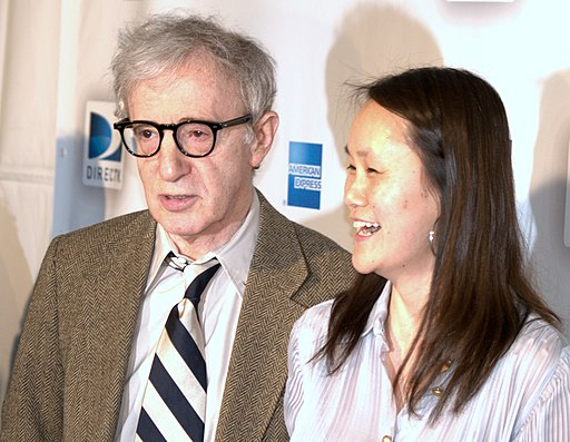 Woody Allen and Soon Yi Previn portrait 2009
