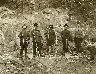 Sydvaranger - Workers in 1907