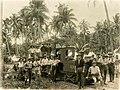 Workers of the NZ Railways Section opposite Vaea Camp, Samoa (NAM 2003.100).jpg