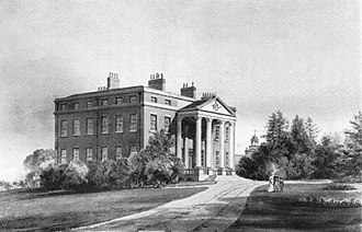 Grade I listed buildings in Hertfordshire - Image: Wormleybury in 1816