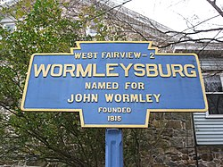 Official logo of Wormleysburg, Pennsylvania