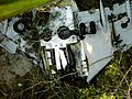Wreckage of flight GLO 1907.jpg