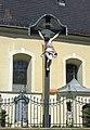 Wrocław - krzyż przy kościele pw. Św. Maurycego.JPG