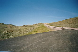 Albany County, Wyoming - Morton Pass (SR34) (7,360' ASL)