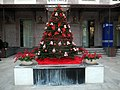 X-mas tree on Zakyan street, Yerevan.jpg