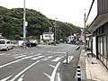 Yamaguchi Prefectural Road No.64 in front of Tamae Station 2.jpg