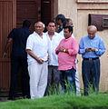 Yash Chopra visits Rajesh Khanna's home Aashirwad 18.jpg