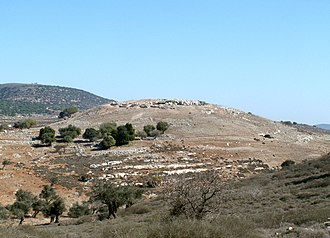 Siege of Yodfat - Hilltop location of ancient Yodfat