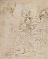 Youth Kneeling before a Prelate (recto); Another Study of a Youth Kneeling before a Prelate (verso) MET 08.227.29 VERSO.jpg