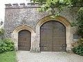 Yvetot-Bocage - Château de Servigny, portail (2).JPG