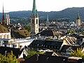 Zürich - ETH-Terasse - Kirchen IMG 0285.jpg
