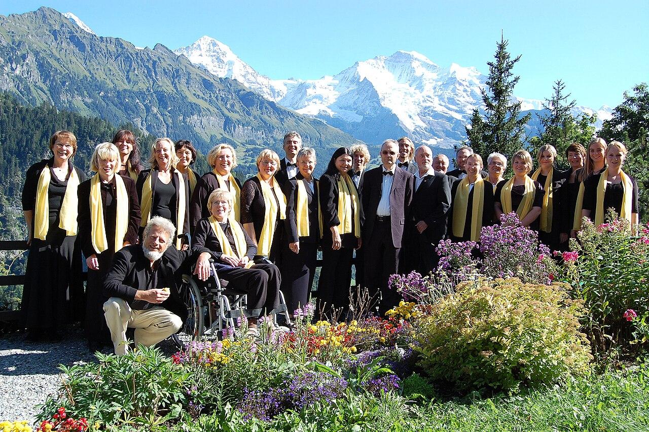 Konzertreise in Isenfluh, Schweiz, 2009