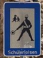 Zeichen 356 Schülerlotsen StVO 1970 Wemding.jpg