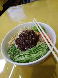 Chinese noodle dish