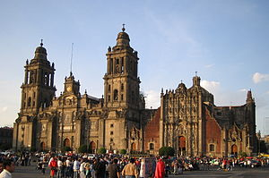 Historic center of Mexico City - Mexico City Cathedral