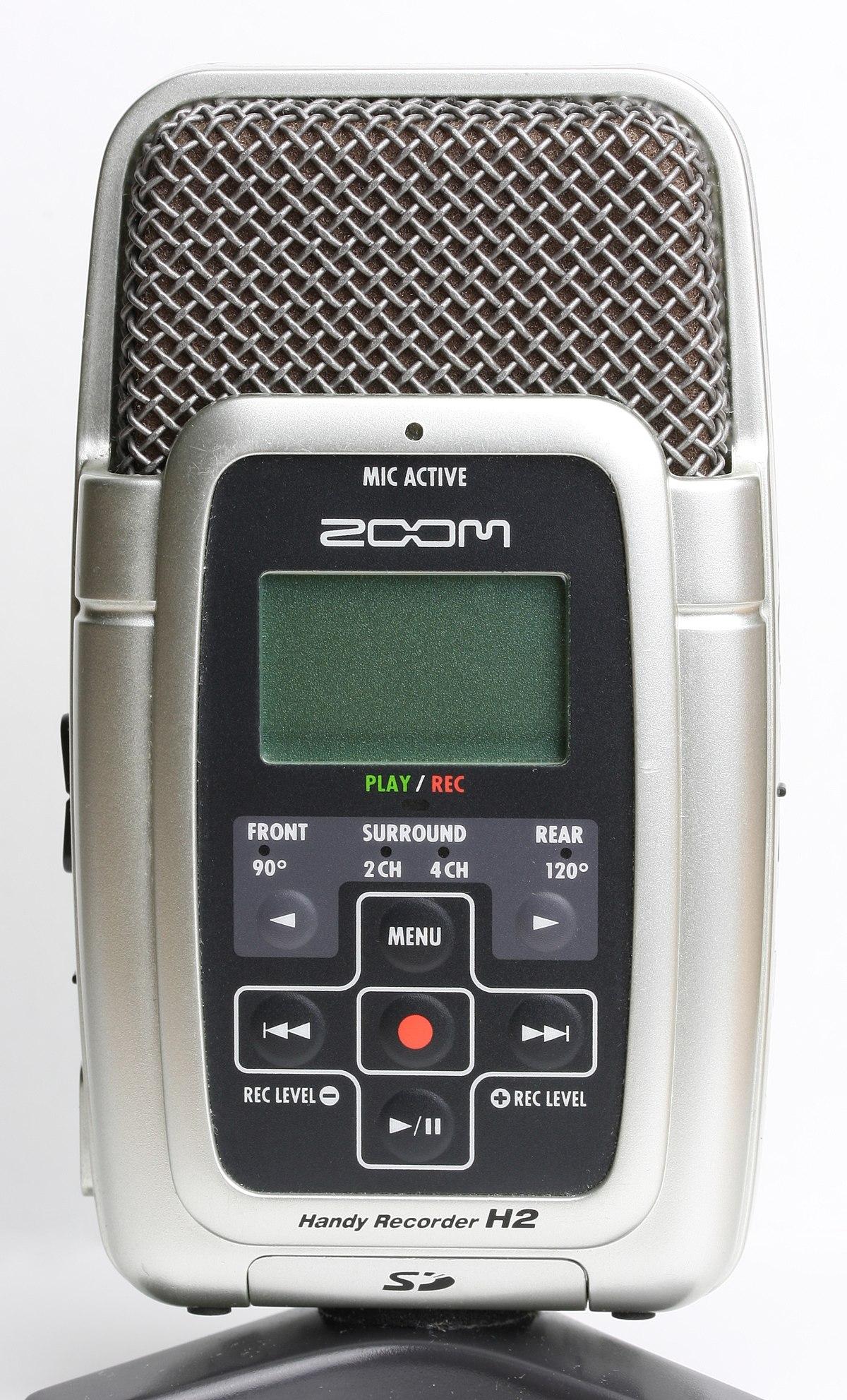 Zoom Handy Recorder : zoom h2 handy recorder wikipedia ~ Hamham.info Haus und Dekorationen