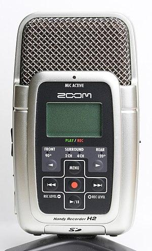 Zoom H2 Handy Recorder - The H2 Digital Handy Recorder