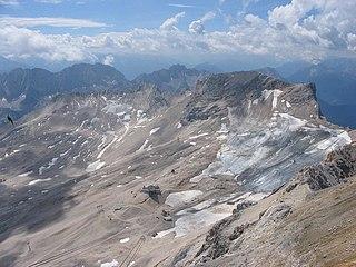 Schneeferner glacier