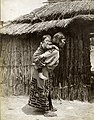 """Ainu mother and child."" Department of Anthropology, Japanese exhibit, 1904 World's Fair.jpg"