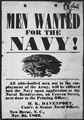 """Men Wanted for the Navy"", 11-1863 - NARA - 516337.tif"