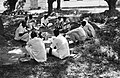 """Paohaiyappas College Hindu Art and Science, Eating in the Shade"" (BOND 0438).jpg"