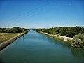 """""""Pont du Bouc"""", over the Canal du Rhône au Rhin. Département du Haut-Rhin , France. - panoramio.jpg"""
