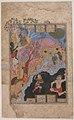 """Rustam Slays the White Div"", Folio from a Shahnama (Book of Kings) MET sf65-7-3r.jpg"