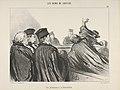 """""""Une péroraison à la Démosthène,"""" plate 33 from Les Gens de Justice MET DP833795.jpg"""