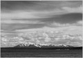 """Yellowstone Lake, Mt. Sheridan,"" Yellowstone National Park, Wyoming., 1933 - 1942 - NARA - 520001.tif"