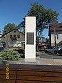 """"""" Niezależność """" - Polish Independence Monument, Central Square Brwinow, Ul.Rynek, 05-840, Poland, Marshal Józef Piłsudski.JPG"""