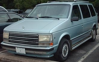 Plymouth Voyager - 1987-1990 Plymouth Voyager SE