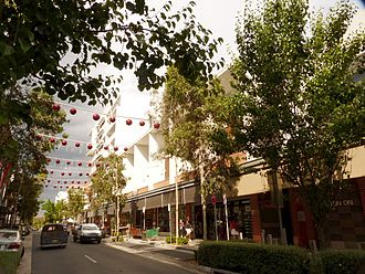 Rouse Hill, New South Wales - Main Street, Rouse Hill Town Centre shopping centre