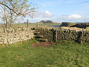 Milecastle 39 - The site of Turret 39B