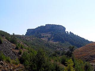 Çandır Castle Archaeological site in Turkey