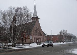 Ferme-Neuve, Quebec - The Roman Catholic church in Ferme-Neuve.