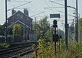 État de la section d'Orchies à Ascq de la ligne de Somain à Halluin au 15 octobre 2017 (375, gare d'Ascq).JPG
