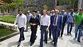 Επίσκεψη Υφυπουργού Εξωτερικών, Γιάννη Αμανατίδη, στο Άγιον Όρος (05.07.2016, Καρυές) (28005763722).jpg