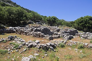 Sklavokampos valley in Malevizi Municipality, Greece