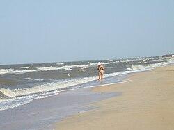 Das Asowsche Meer bei Golubizkaja