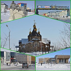Centre: Trinity Cathedral.