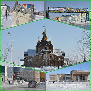 Anadyr (town) - Centre: Trinity Cathedral.