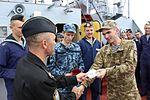В українських ВМС після 7-річної перерви відновлено катерну практику майбутніх офіцерів із заходами до іноземних портів (30044135841).jpg