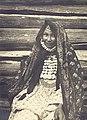 Круковский М.А. Портрет женщины в традиционном уборе. Башкиры. Башкортостан (Уфимская губ.). 1908 г.jpg