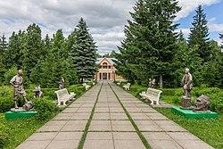Лес Кырлай возле музея Габдуллы Тукая.jpg