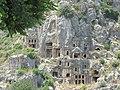 Ликийский некрополь VI-IV век до н.э. Мира. Турция. Июнь 2011 - panoramio (1).jpg